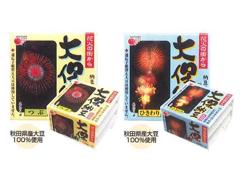 大保納豆 つぶ・40g×3(タレ付)/ひきわり・40g×3(タレ付)